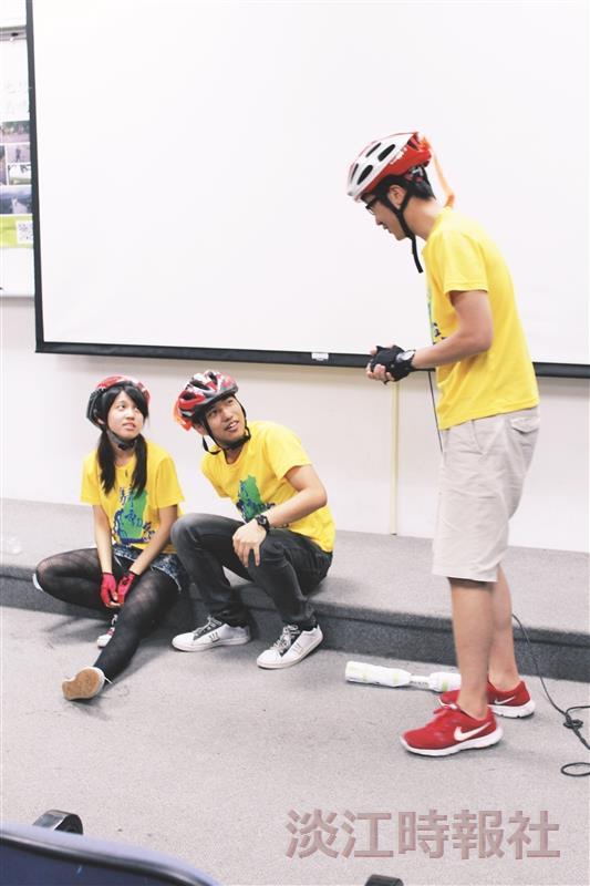 單車環島行心得分享會 情境劇看過程