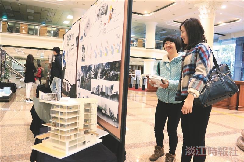 建築系20作品發想未來系館