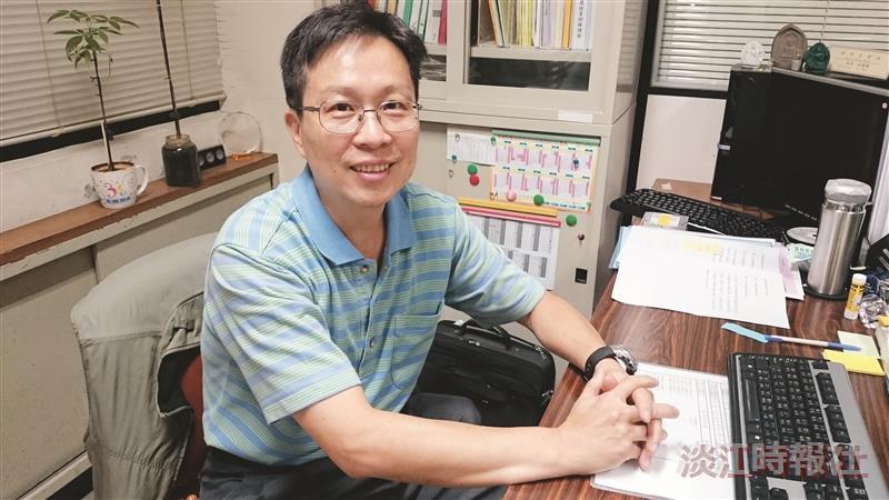 104學年度新任二級主管-教學支援組組長林東毅