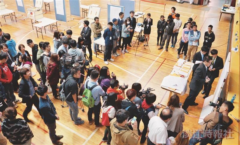 學生會補選 投票率2.4% 近年新低