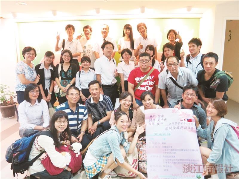 學習共同體日本團 蒞課程所感動座談