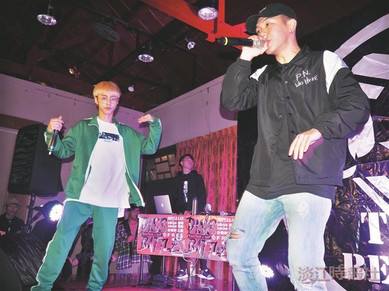 Beatbox社舉辦beatbox x Rap的battle比賽