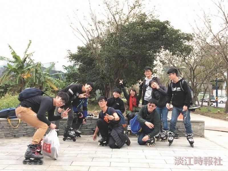 溜冰社 技巧與默契俱精進