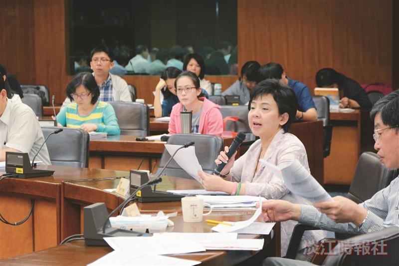 105年度教育部大專校院統合視導自我檢核審查會議18日舉行