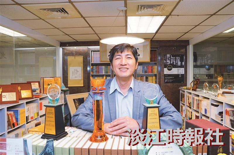 【卓爾不群】允晨文化發行人廖志峰 守住編輯桌傳遞書本溫度