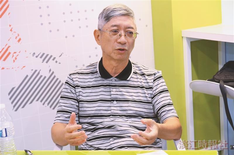 物理系教授林震安 春風廣披 為社稷卓育英才
