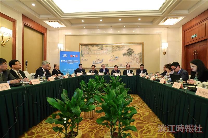 國際研究學院院長王高成率院內教授赴上海參加研討會