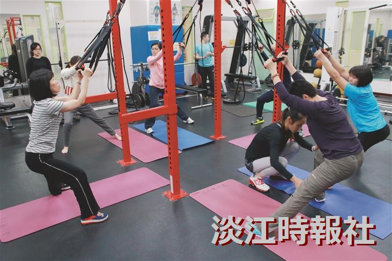 懸吊式肌力訓練Cross Core來助陣