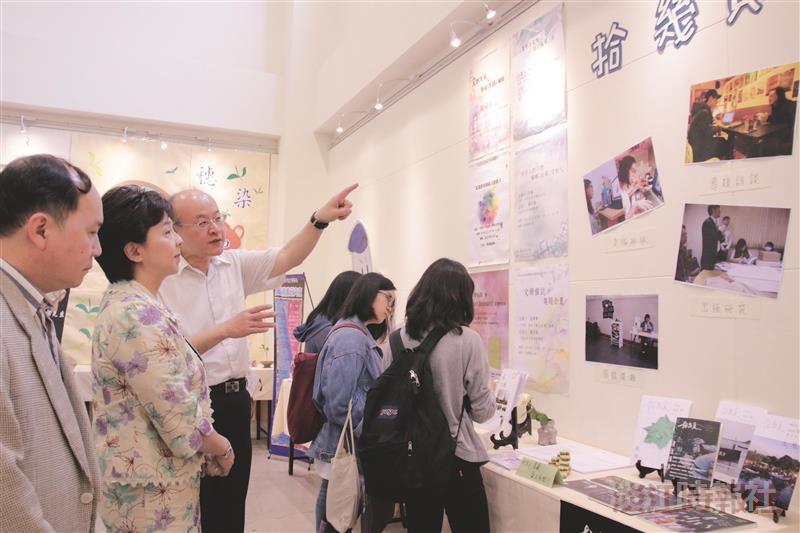 中文系新變成果展 呈現傳承與新創