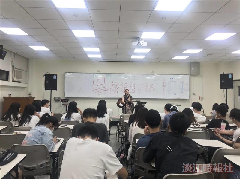 吉他社邀歌手吳蓓雅教學音樂創作