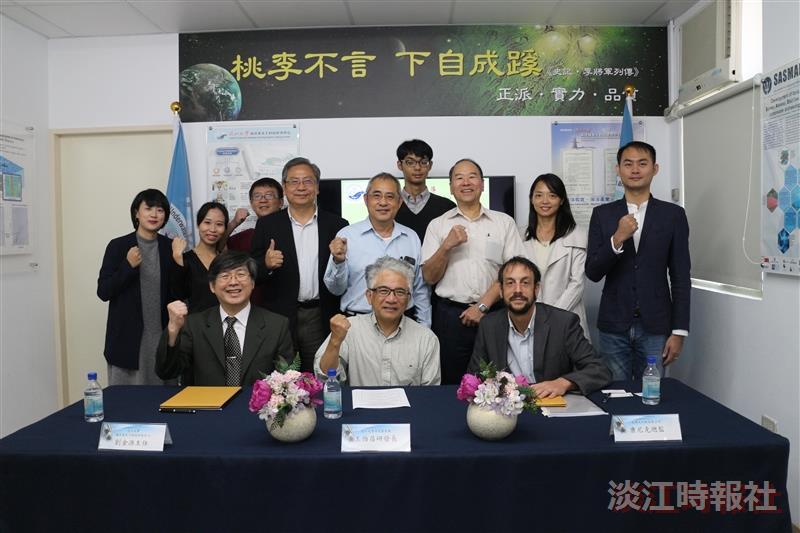 本校攜手台灣尼阿斯簽訂MOU及產學合作計畫案