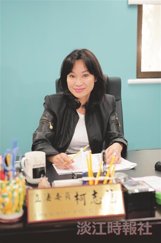 立法委員柯志恩 國會新面孔 教育專業問政