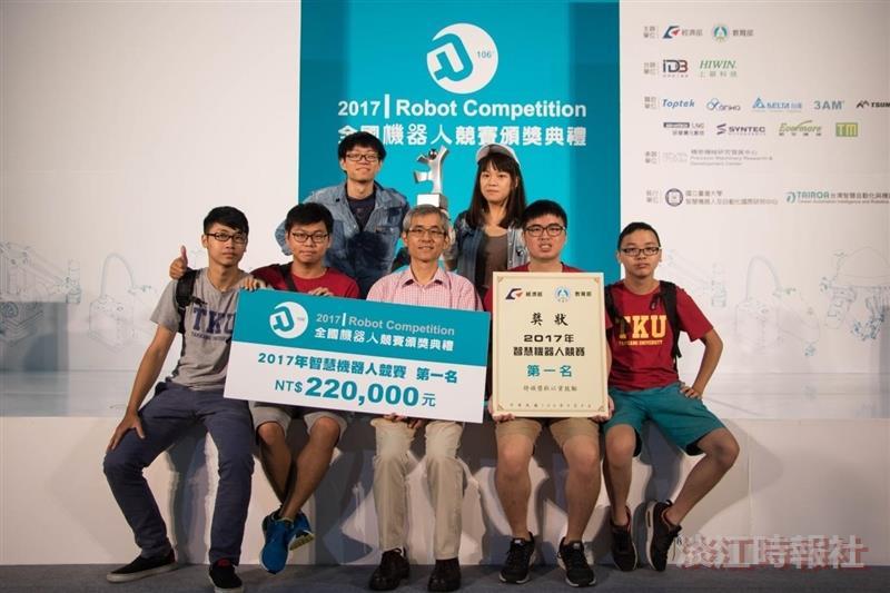機電系獲全國機器人競賽金牌