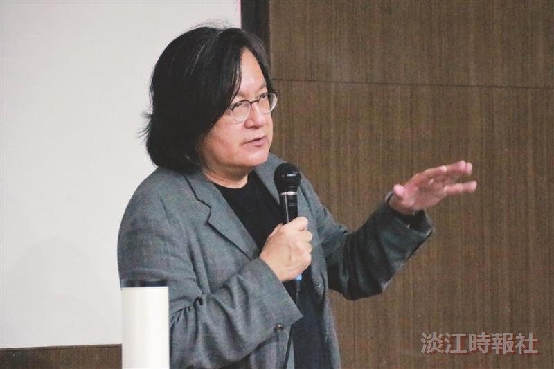 臺北市都發局局長林洲民 以建築生命推都市願景