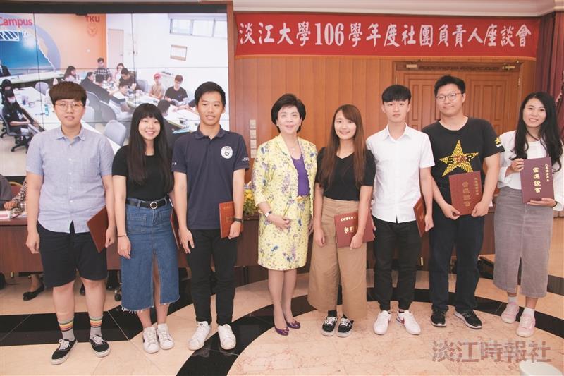 本校11生獲大專優秀青年獎