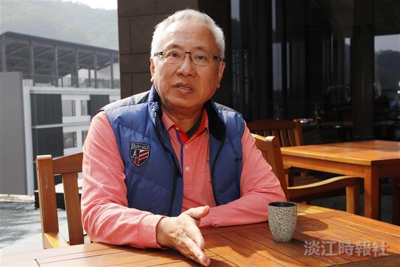 力寶化工廠股份有限公司海外總經理王裕聰