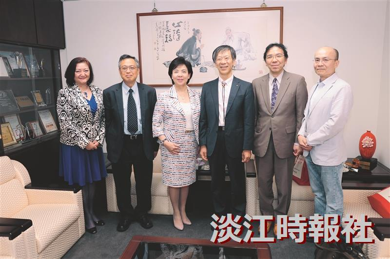 日本關西大學副校長前田裕來訪