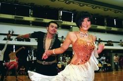 西語二魏琬婷、化材四張凱翔拿下大專四項第2名等6個獎項,是淡江選手中的最大贏家。(攝影�王家宜)