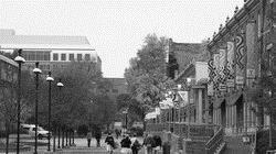 天普大學校景如詩如畫。(圖�陳俊元提供)