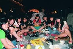 THE MID-AUTUMN FESTIVAL BBQ PARTY TOOK PLACE AT LANYANG CAMPUS ON SEPT. 23