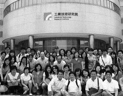 企管系教授吳坤山帶領企管所碩專班學生,赴工業技術研究院參訪。(圖�企管系提供)