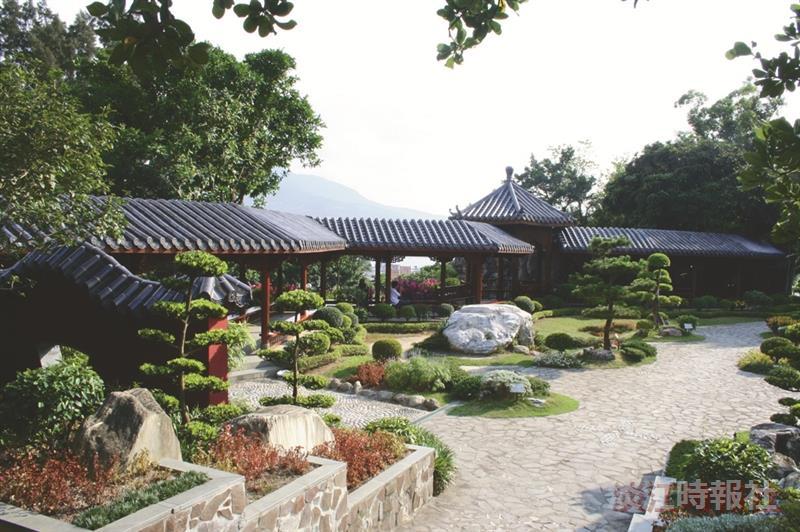校園超ㄏㄤ景點--覺軒花園