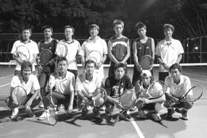網球隊在經驗傳承中 累積實力