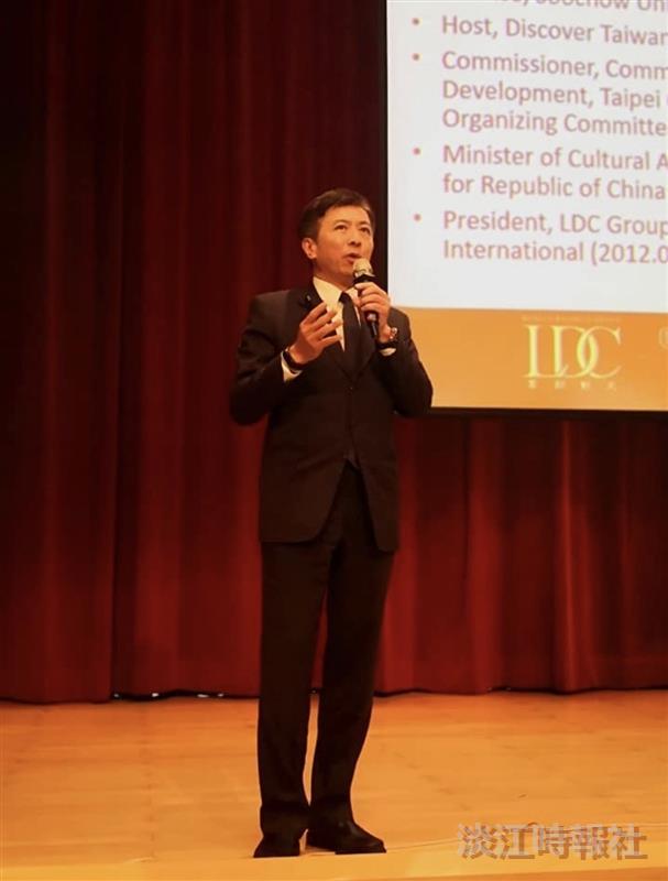 蘭陽大師演講 盛治仁談領導與創新