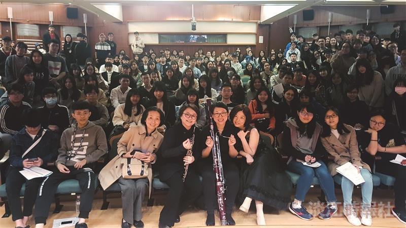 淡江音樂季2019最終場「唱 雙簧」