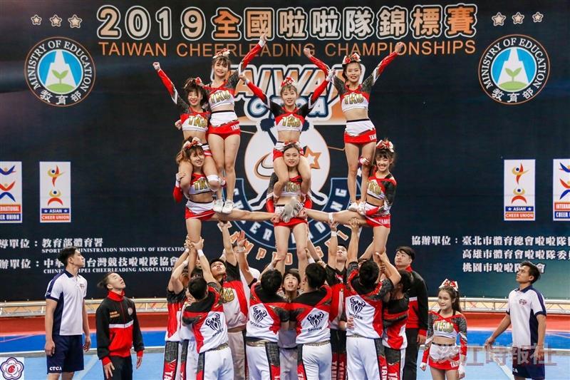 競技啦啦隊12/7全國啦啦隊錦標賽得獎