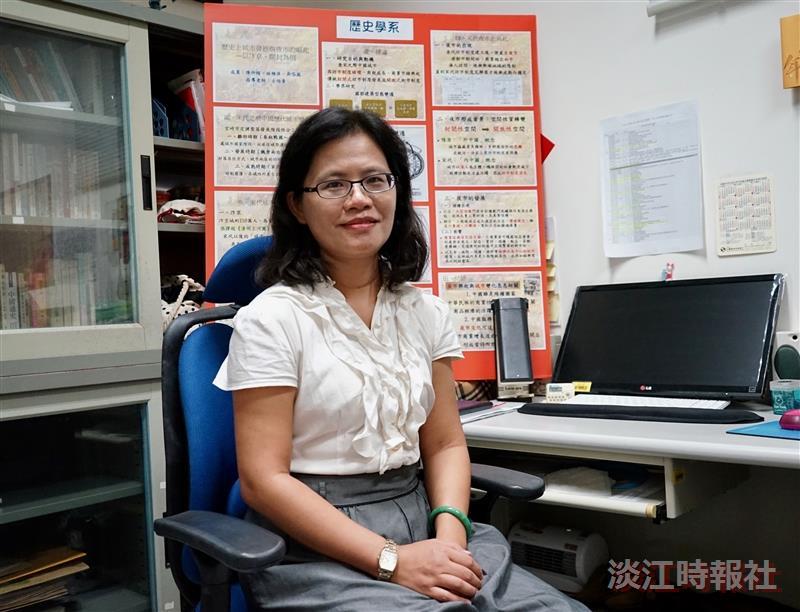 歷史系助理教授古怡青