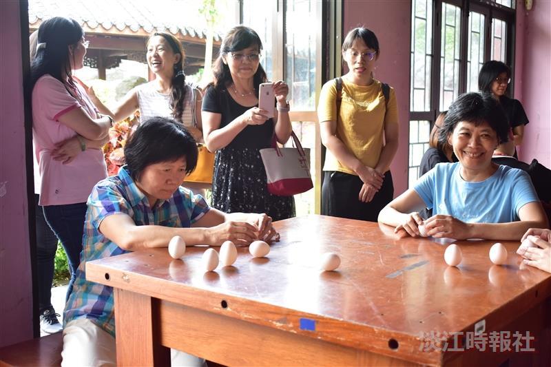 女聯會6月6日端午立蛋:粽味飄香