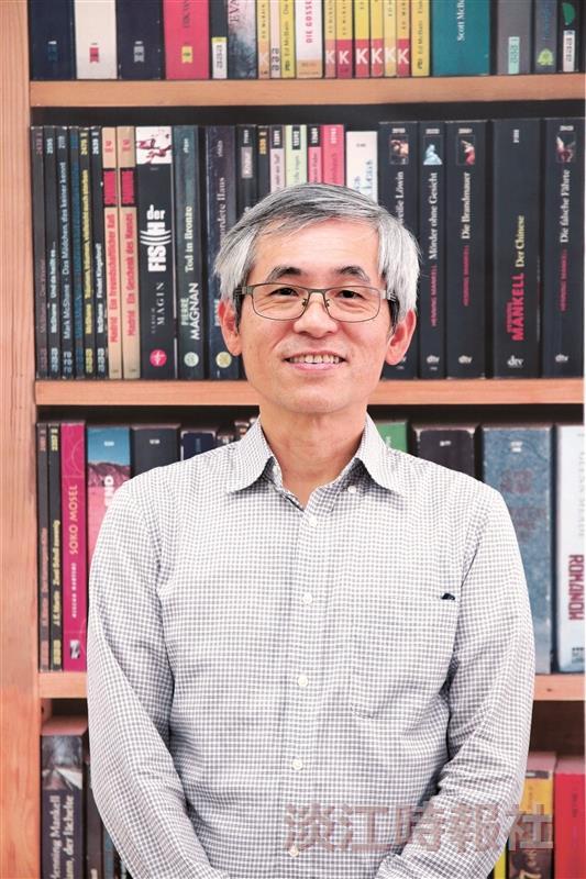 110學年度新任二級主管介紹-人工智慧學系主任王銀添