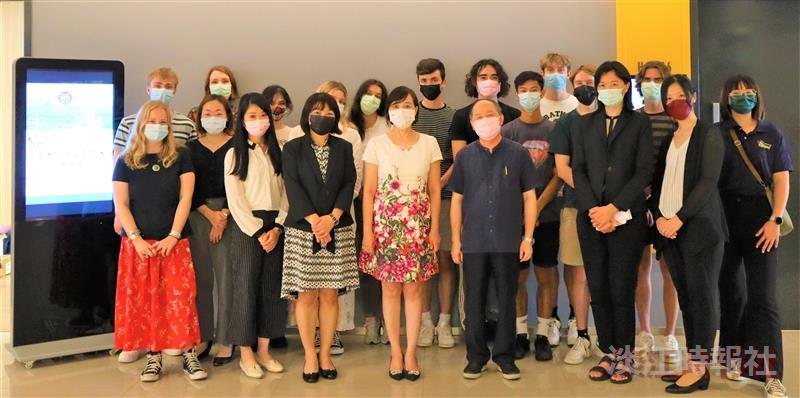 華語中心舉辦英國愛丁堡大學學生來台始業式