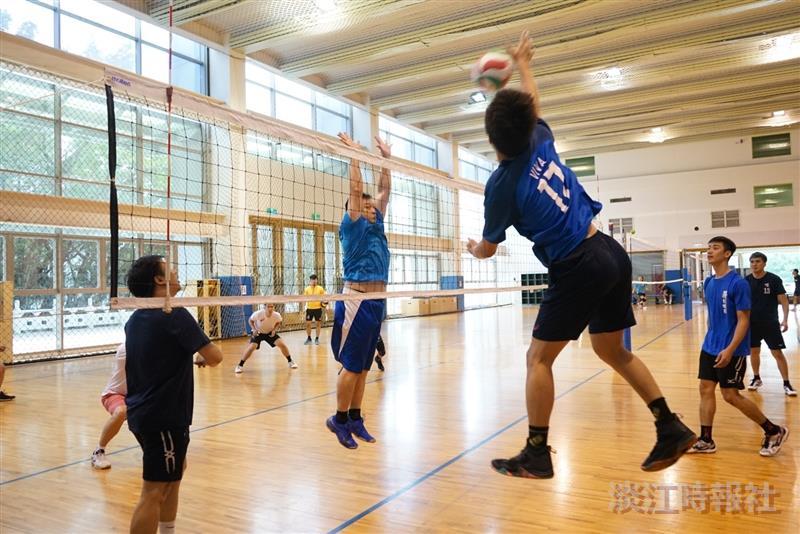 男子排球代表校隊友返校交流活動