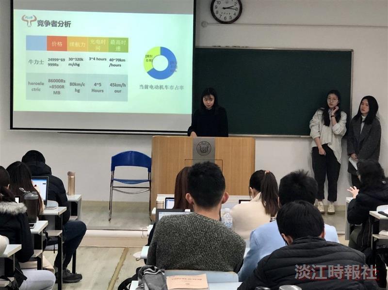 經濟四陳佳妍 上海行體會不一樣的教學