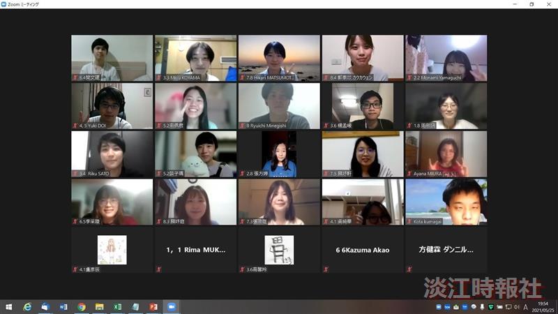 中日學生線上交流活動 為雙方留學夢想鋪路