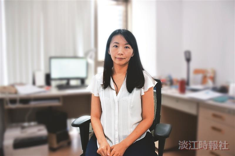 日文系助理教授蔡欣吟獲106學年度教學評鑑優等獎