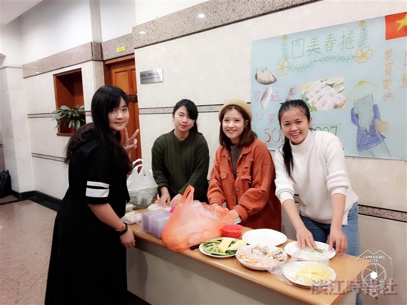 華語中心園遊會嚐異國料理