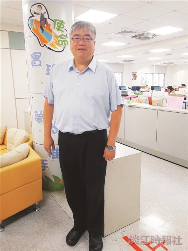 財務處財務長林谷峻