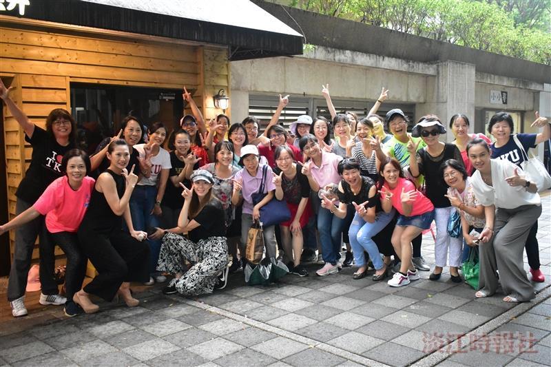 女教職員聯誼會「Dance for TKU, 70 校慶無不停」