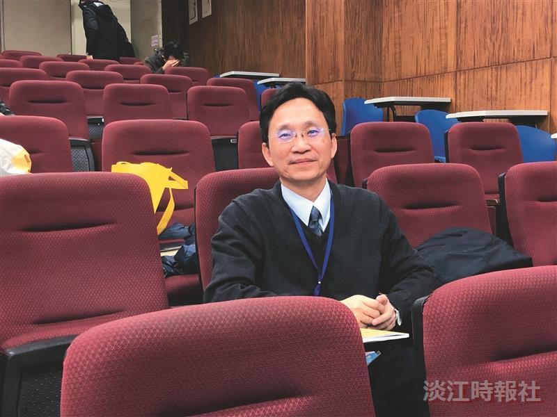 109學年度新任二級主管-運輸管理學系主任許超澤