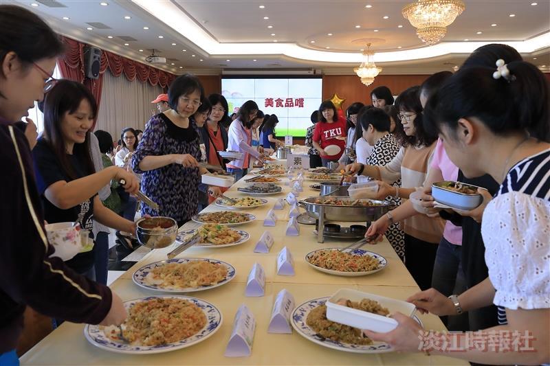 9/27 女教職員聯誼會舉辦「感念師恩、美食共享 」活動。