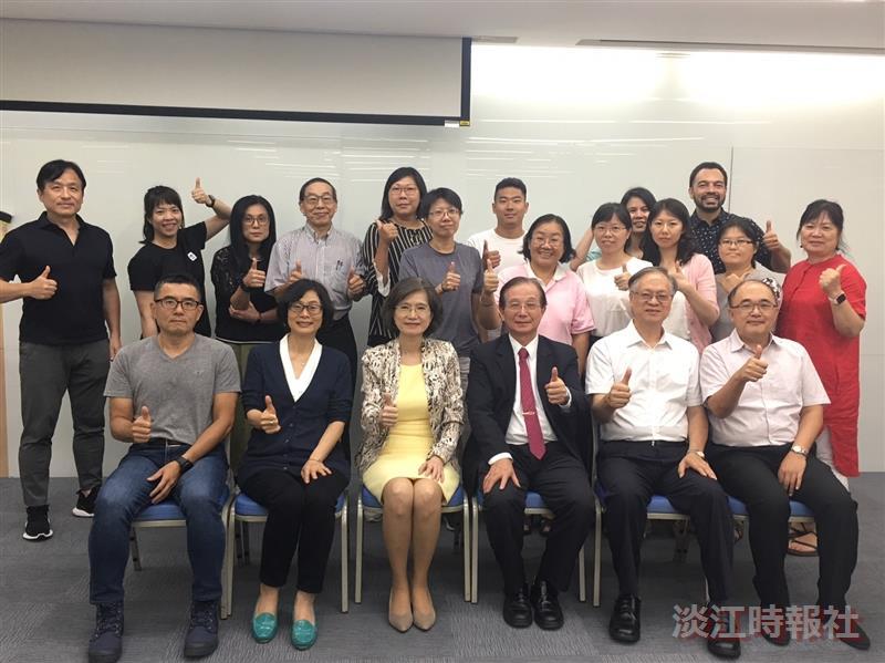 教育學院教育領導與科技管理博士班舉辦新生座談會