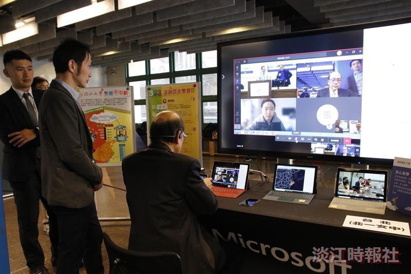 【數位學習實力到位系列報導五】物聯網課程現場模擬 陸生遠距見師長心情激動