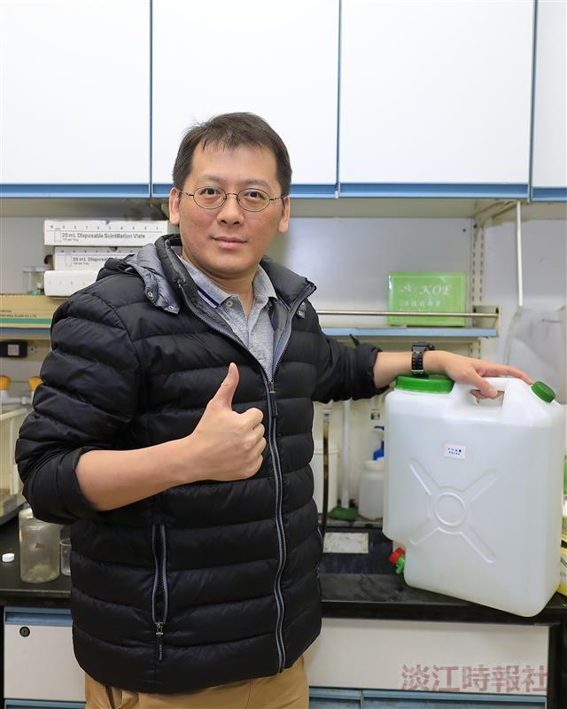 【校園話題人物】化學系教授謝仁傑