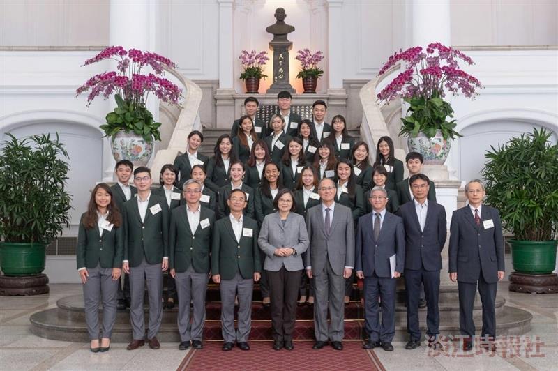 國際青年大使外交三皮韻和 19日赴總統府受證