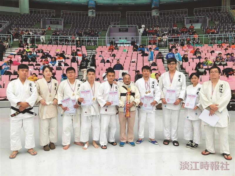 柔道社奪錦標賽3冠
