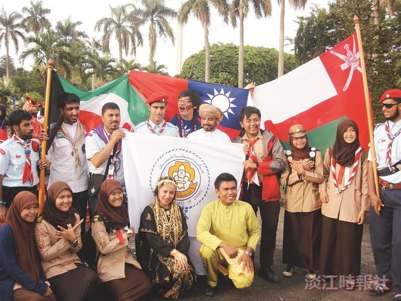 國際和平營 童軍團群長謝旻諺化身和平大使
