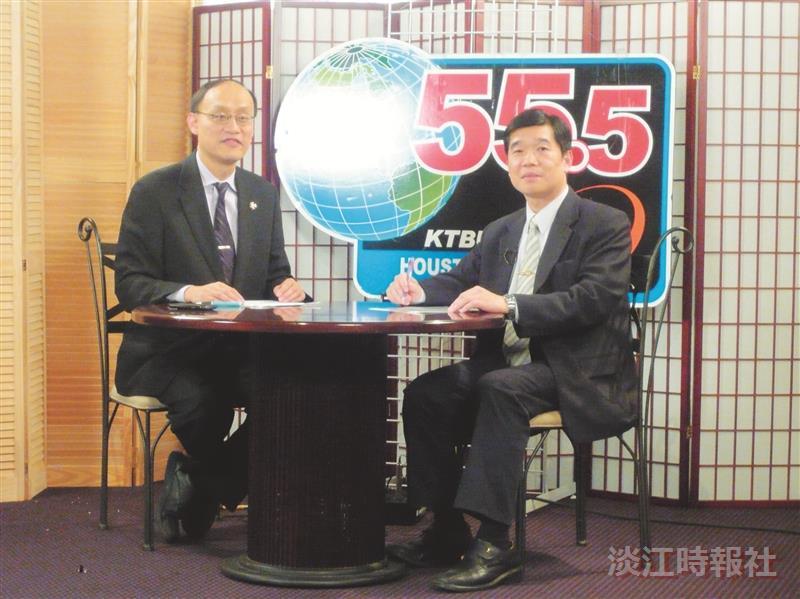 鄭欽模赴美談兩岸 華人反應熱烈